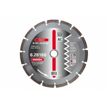 Алмазний отрезной диск METABO для абразивных материалов (628183000)